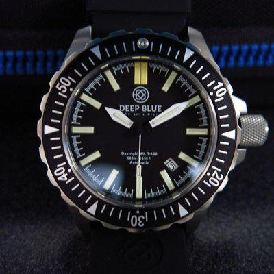 TRADED -Brand new Deep Blue Daynight MIL T-100 Tritium Diver
