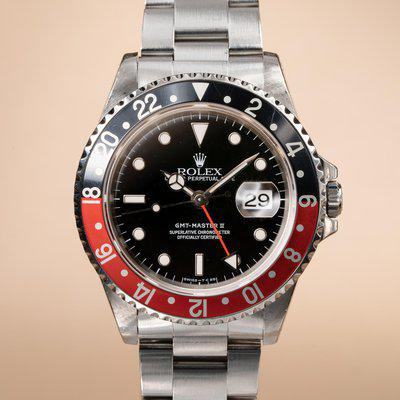 FS: 1996 Rolex GMT-Master II 16710 with Papers