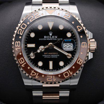 FSOT: Rolex GMT Master II - 126711CHNR - Root Beer - Oyster - New 2021