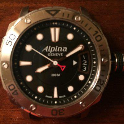 Alpina Seastrong Extreme Diver