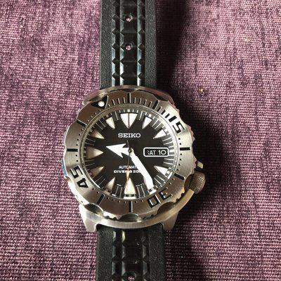 FS Seiko Black Monster Gen 2 SRP307 - 475 Euro OBRO