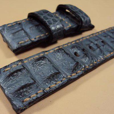 FS: 11 authentic croco straps & OMEGA deployant custom croco strap and more. Cheergiant straps