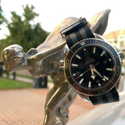 FS: Omega Seamaster Planet Ocean 45.5mm Automatic Stainless Steel Box & Papers