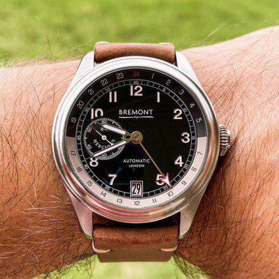 """WTT Limited Edition Bremont H-4 Hercules GMT Steel """"Spruce Goose"""""""