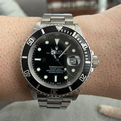 For Sale: RSC Serviced Rolex 16610 Submariner Date