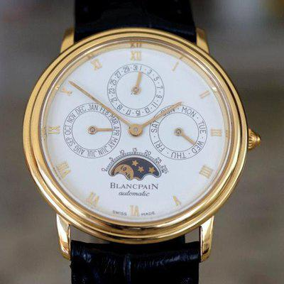 FSOT: Blancpain Villret Perpetual Calendar with Moonphase