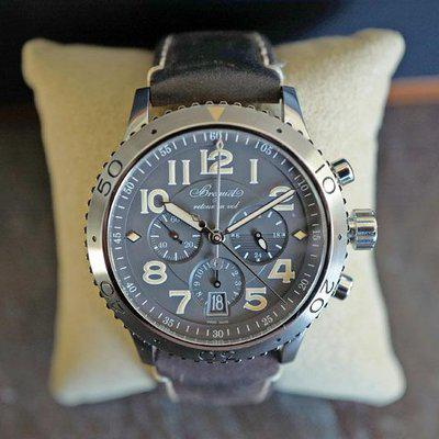 FS BREGUET TYPE XXI FLYBACK AUTOMATIC DATE SLATE GREY DIAL 42MM