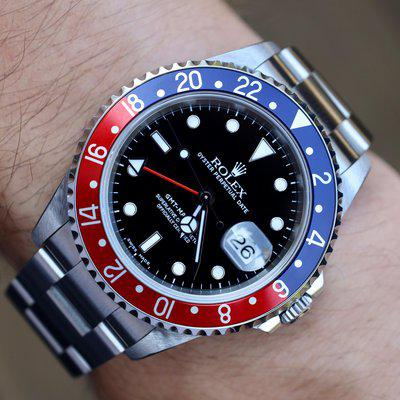 [WTS] 2000 Rolex GMT Master ll Ref. 16710   Unpolished   Papers