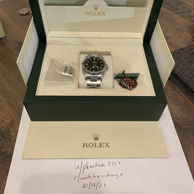 [WTS] Rolex Explorer I 114270 F Serial w/Box and Papers