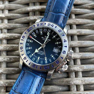 SOLD: Glycine Airman 18 GMT (GL0222) - $675 Shipped!