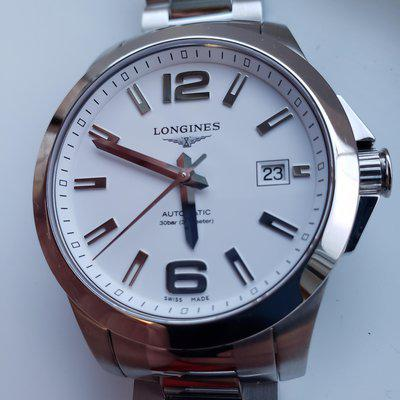 [WTS] Longines Conquest 39mm White dial