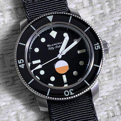 FSOT: BLANCPAIN - Fifty Fathoms - 40.3 mm - Mil-Spec - Hodinkee Limited Edition