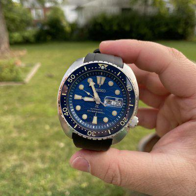 """[WTS] [Repost] Seiko JDM SBDY047 Save the Ocean """"King Turtle"""" - with Crafter Blue strap - $299 Shipped!"""