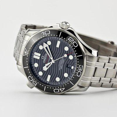 fsot - Omega Seamaster 300 - Black - Wave Dial - 42mm - Master 8800 ( new / 2020 )