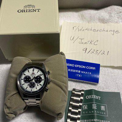 [WTS] Orient Neo 70's Panda Solar Powered 42mm Pre-Owned Full Kit $225 Shipped