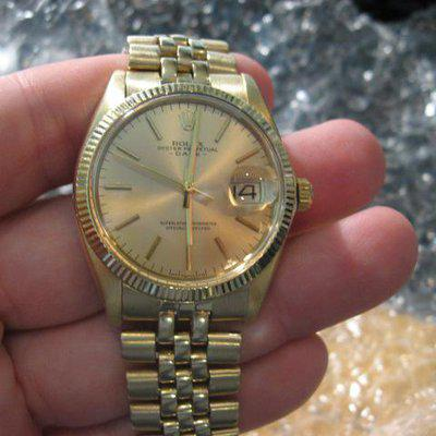 FS: ROLEX 14K GOLD DATE 1503 Reference