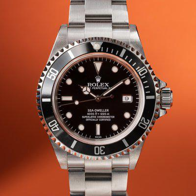 FS: 1999 Rolex Sea-Dweller 16600 Swiss Only Dial with Papers
