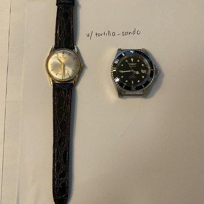 [WTS] Precimax Vintage Swiss Made Hand Wound 34mm, Invicta 8926OB Watch Only
