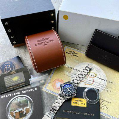 42mm Breitling A17365C9 Superocean Stainless Steel Automatic Full Box + Papers