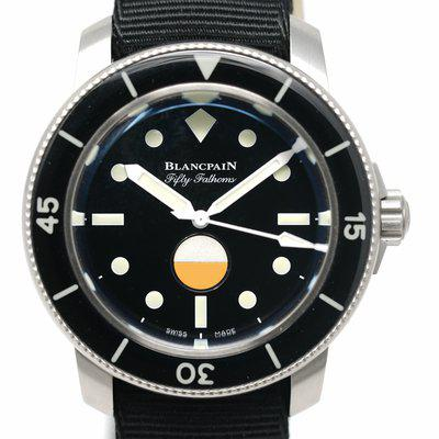 FS: Pre-Owned Blancpain Fifty Fathoms MIL-SPEC Hodinkee 5008 11B 30 NABA
