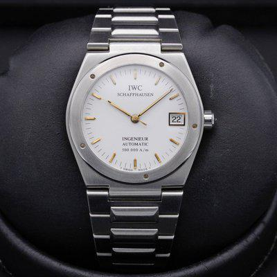 FSOT: IWC - Ingenieur - 3508 - Stainless Steel - Automatic - 34mm - Excellent Condition - Vintage 1990 - Genta Design