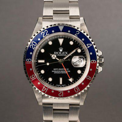 FS: 1999 Rolex GMT-Master II 16710 with Papers