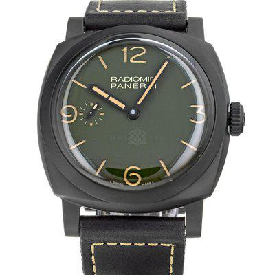 FS- Panerai PAM997 Radiomir 1940 Military Green Dial Box Papers Boutique Edition
