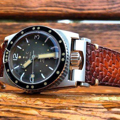FS : French Patina beaver Tail With Minimal Stitching For ZRC Sprit 1904
