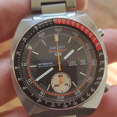 For Sale: Seiko 6139-6030 Speed Timer Pogue Coke 1970 (SOLD)
