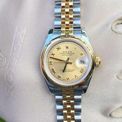 Rolex Datejust Ladies 18k Yellow Gold & Stainless Steel 179173 26mm