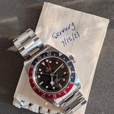 [WTS] 2019 Tudor BB GMT (date serviced, complete)