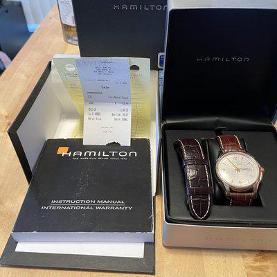 WTS - Hamilton Jazzmaster Viewmatic rose gold