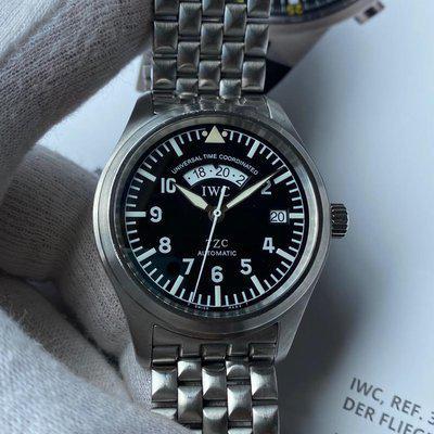 FS:IWC Classic Pilot UTC TZC IW325102 Stainless Steel /w Bracelet