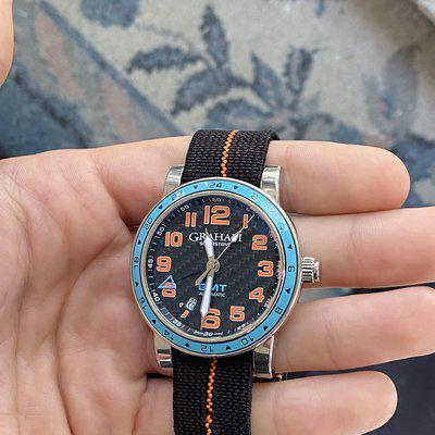 """[WTS] Graham Time Zone GMT """"Gulf"""""""