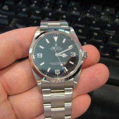 Fs: Rolex bezel engraved 114270 explorer 1
