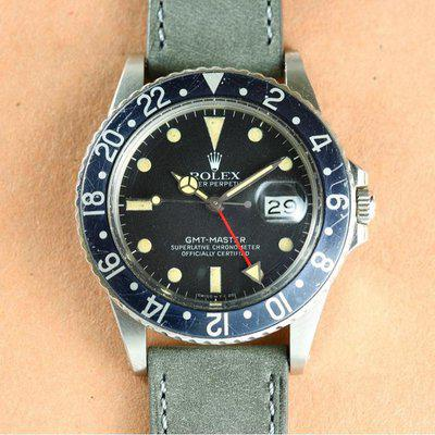 Rolex GMT MASTER | 16750 Matte Dial with Patina