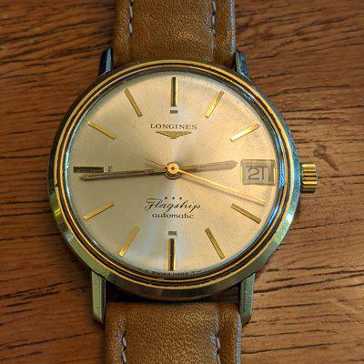 SOLD: 60s Longines Flagship FOR REPAIR