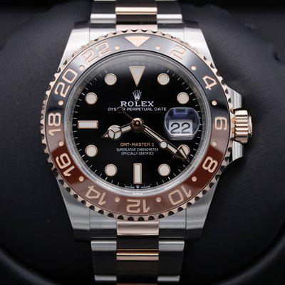 FSOT: Rolex GMT Master II - 126711CHNR - Rootbeer - Two Tone - New 2021