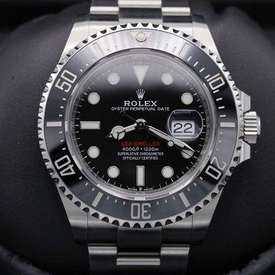 FSOT: Rolex Sea Dweller 43 - Stainless Steel - MkII Dial - 43mm - Mint Never Polished