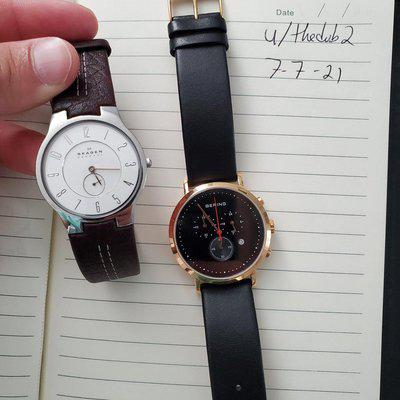 [WTS] Bering 10540-462 and Skagen 433LSL1 - $160 for both