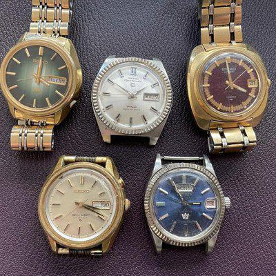 Repair lot: 5 Vintage Seiko/Citizens - Open to Offers