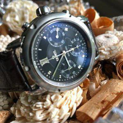 FS: Gevril Generation One Black Dial Chronograph...