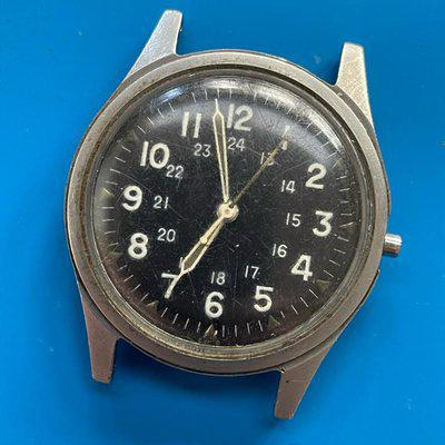 FS: Benrus Field Watch DTU-2A/P MIL-3818B July 1965 for Parts/Repair
