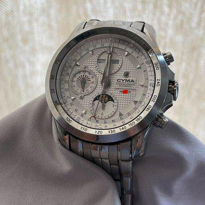 FS: CYMA Day-Date Moonphase Automatic Chronograph (Full Set)