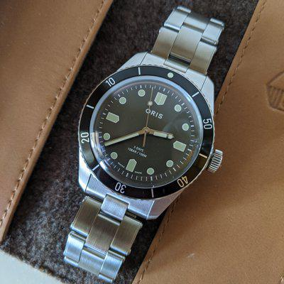 FS: Oris Divers Sixty-Five Caliber 400 Limited Edition For HODINKEE
