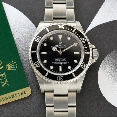Rolex Submariner | 14060M - 4 Liner with Card