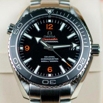 FS: Omega Seamaster Planet Ocean GMT 600m 43.5mm – BOX & PAPERS – 232.30.44.22.01.002