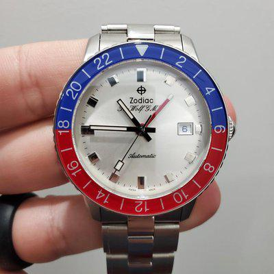 [WTS] PRICE REDUCED Zodiac Sea Wolf GMT Pepsi Topper Limited Edition 40mm excellent conditon Ref# ZO9408