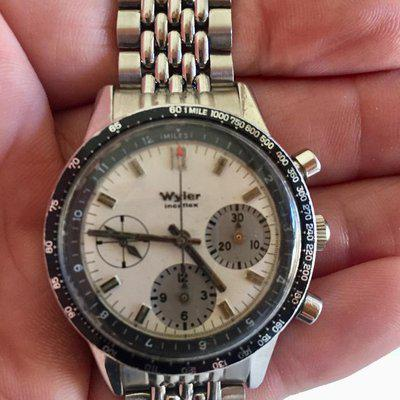 Wyler Lifeguard chrono or Super Compressor signed BoR