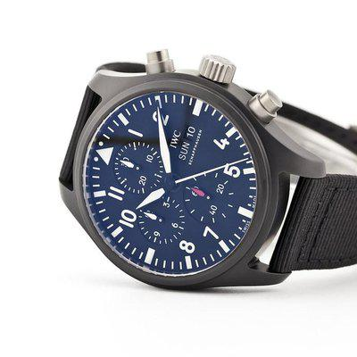 fsot - IWC Pilot Chronograph - Top Gun - Ceramic - 44.5mm - IW389101 ( new / 2020 )